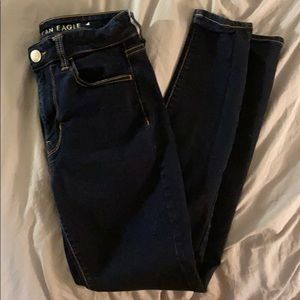 American Eagle High Wasted Skinny Jeans